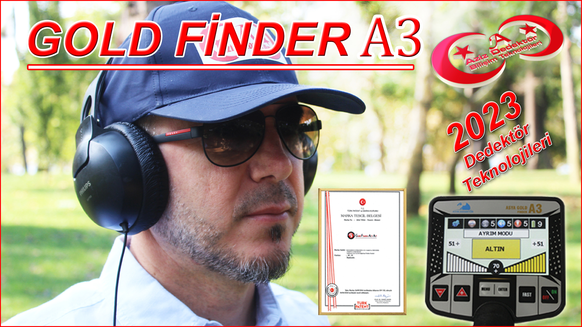 Gold Finder A3-A5 Dedektör
